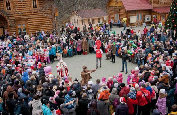 ВМосковской Усадьбе Деда Мороза начнут готовиться кНовому году