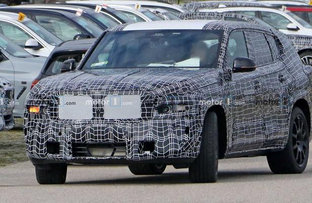 Опубликованы «шпионские» фото прототипа BMWX8