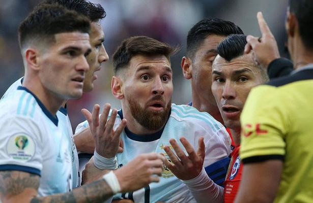 Месси забил голзасборную Аргентины