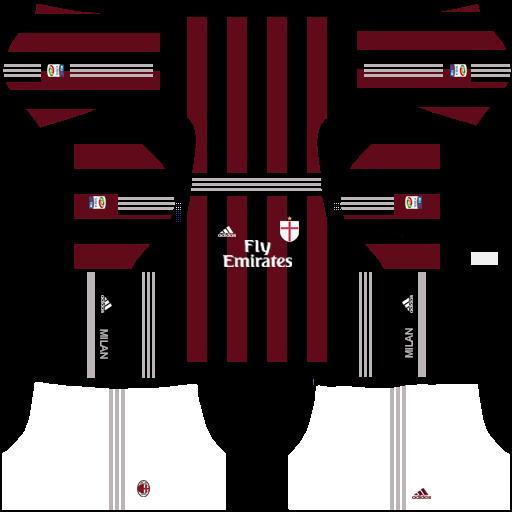 escudo del milan para dream league soccere sorğusuna uyğun
