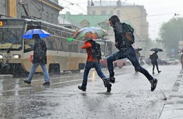 НаМоскву надвигается циклон «Таня»
