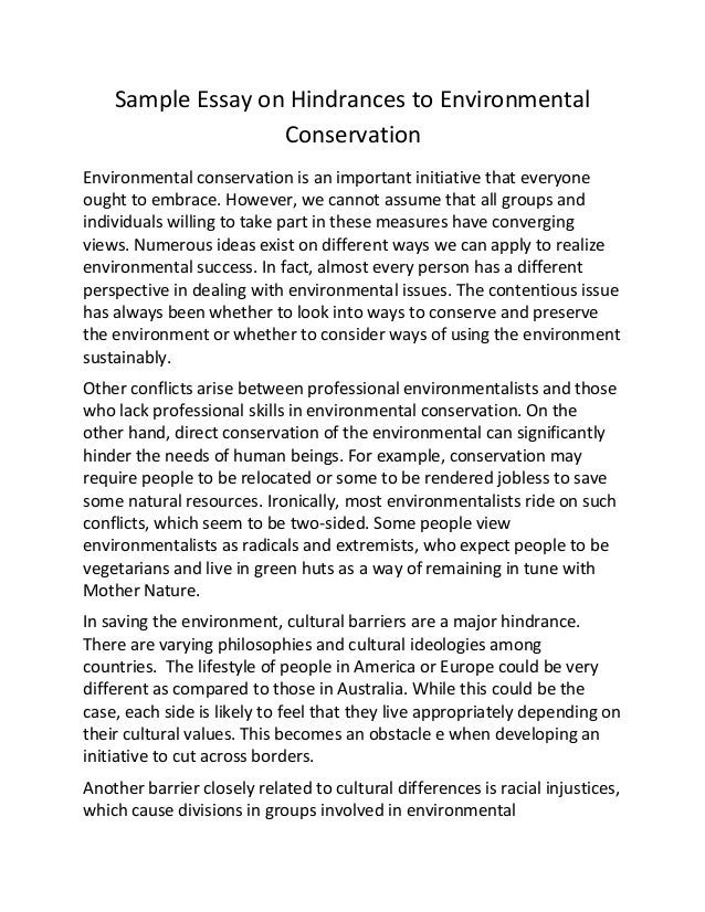 conservation of environment essay financials growth conservation of environment essay