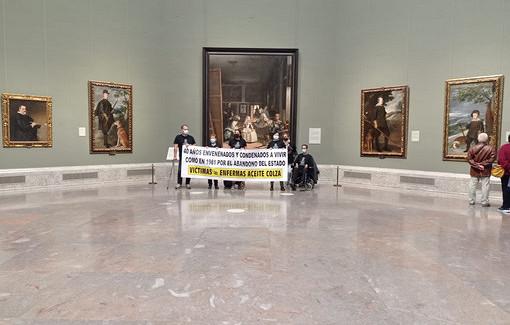 Протестующие захватили залвиспанском музее Прадо
