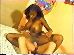 Hot teen ebony model