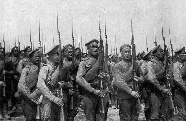 Какиностранцы учили русских воевать
