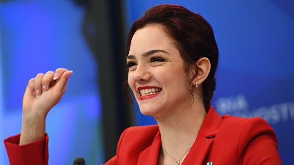 Радионова сказала, какМедведева вернулась кТутберидзе