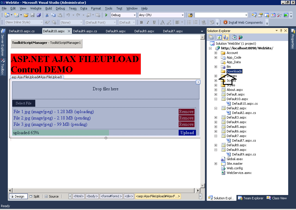 uery ajax file download - CodeProject