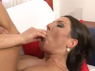 Wam fetish dykes enjoying milk enemas