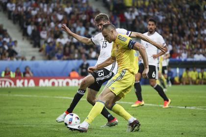 Игрок сборной Украины «попался» наотдыхе вКрыму