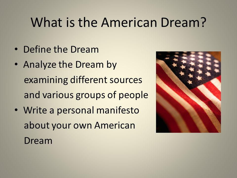 Write my american dream essay