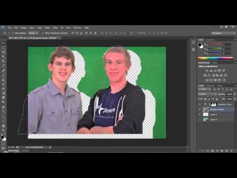 How To Remove A Green Screen Background In Photoshop