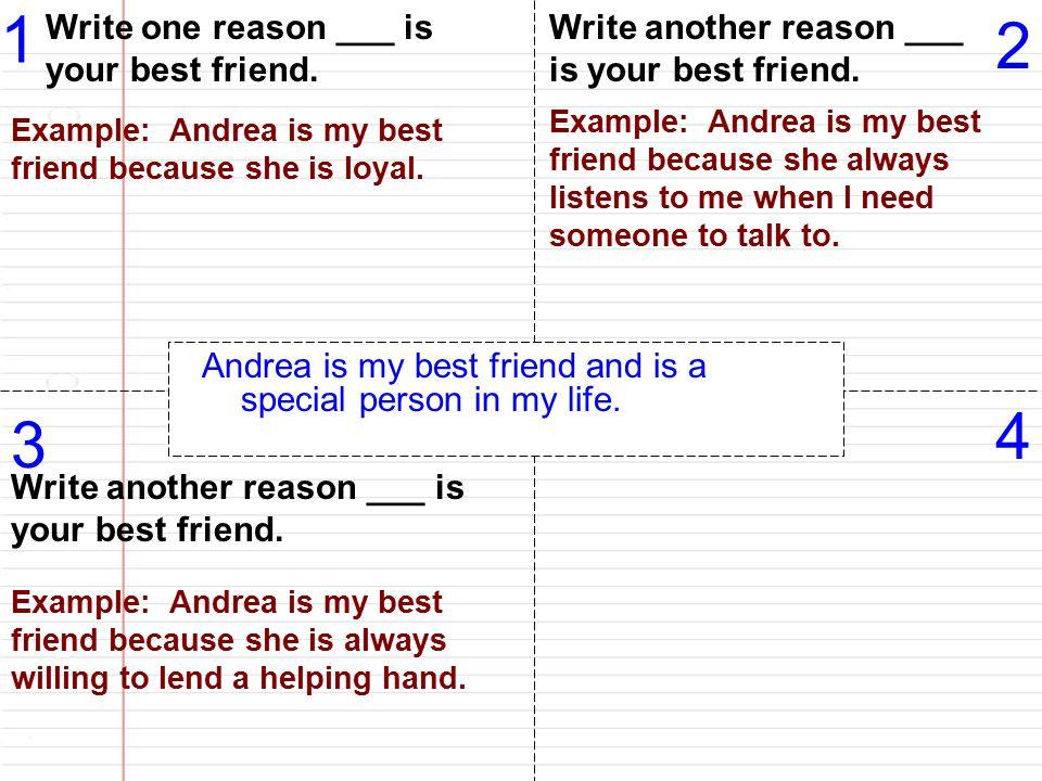 Special person essay