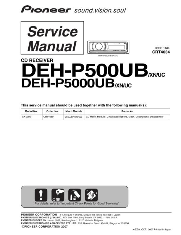 Marantz - Hifi Manuals Free: Service Manuals, Owners