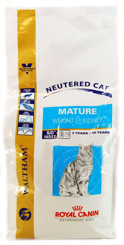 Mature so корм royal canin