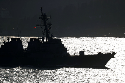 Американский боевой корабль «Дональд Кук» вошел вЧерное море