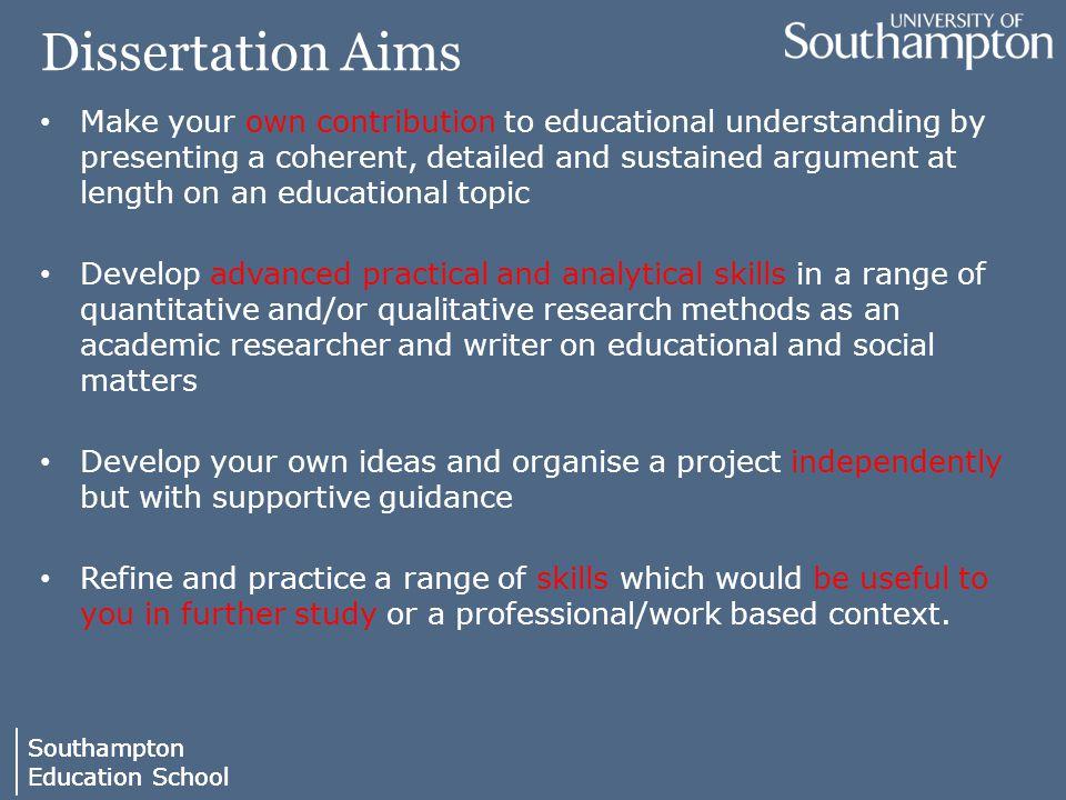 Write my education dissertation topics
