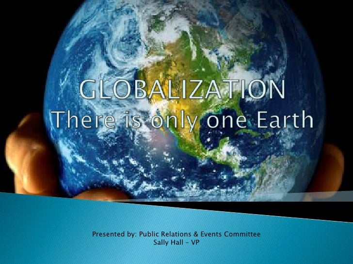 Globalization paper