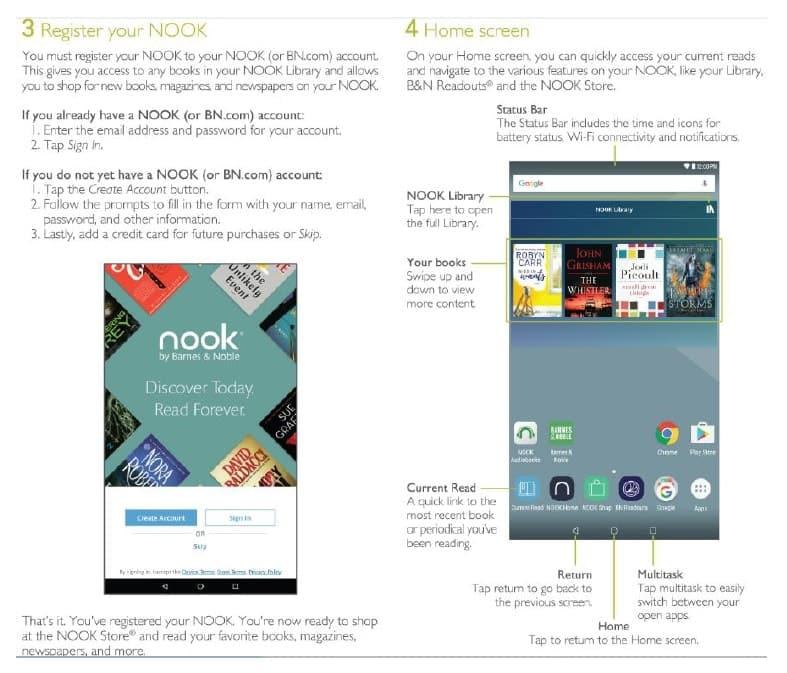 Barnes Noble NOOK HD Manual User Guide - Phone Arena