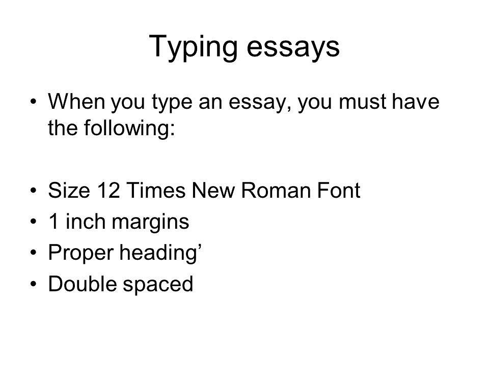 Essay typer tumblr
