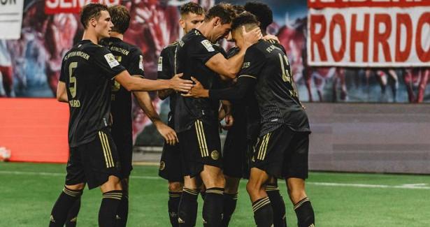 «Бавария» добыла уверенную победу над«РБЛейпцигом»