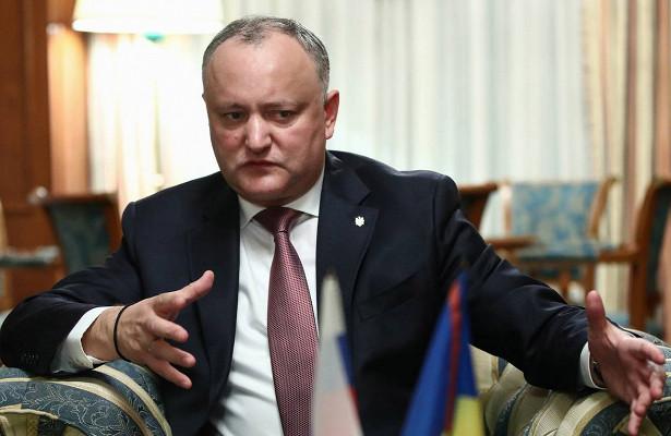 Додон отстоит статус русского языка вМолдавии