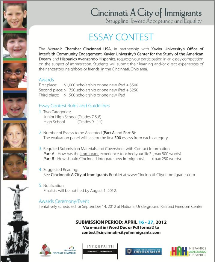 How to Write an Essay for a Contest - Synonym