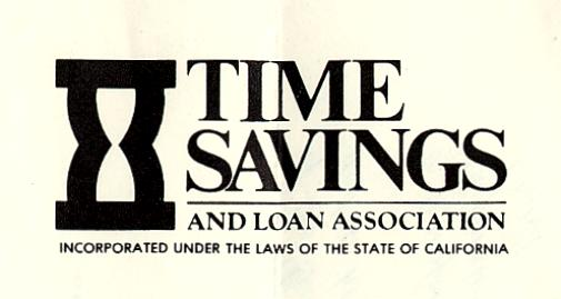Anaheim savings and loan association