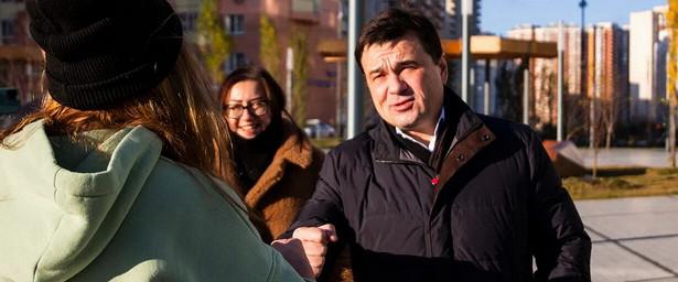 Красногорцы обратилась кгубернатору спросьбой построить скейт-парк