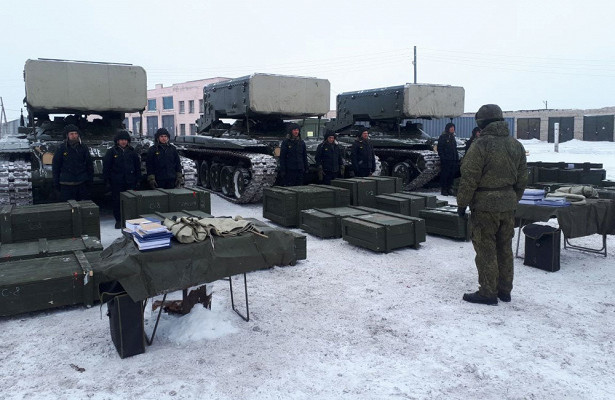 Войска ЦВОполучили комплект тяжелых огнеметов «Солнцепек»