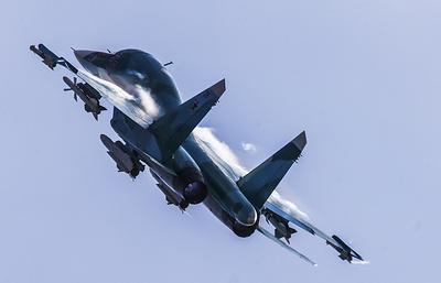 Бомбардировщики Су-34выполнили полеты встратосферу