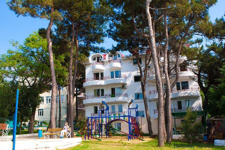пансионат черноморский берег анапа официальный сайт