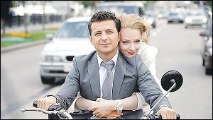 Российские фильмы сучастием украинского президента
