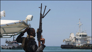 Пираты захватили грузовое судно вГвинейском заливе