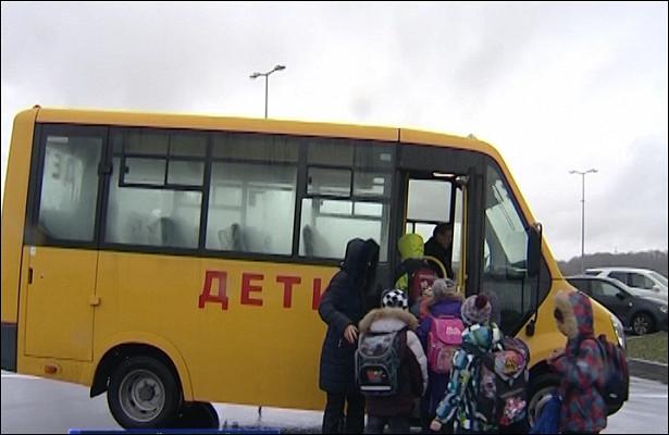 ВГурьевске появились триновых школьных автобуса