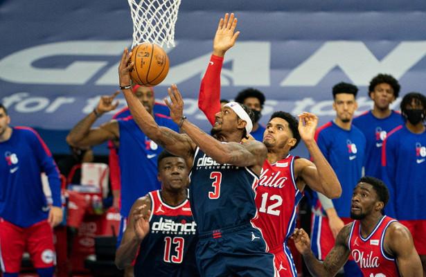 «Вашингтон» уступил «Филадельфии» вматче НБА