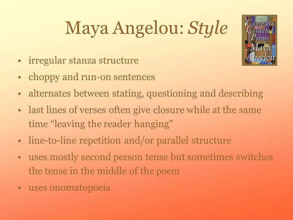 Write my essay on maya angelou