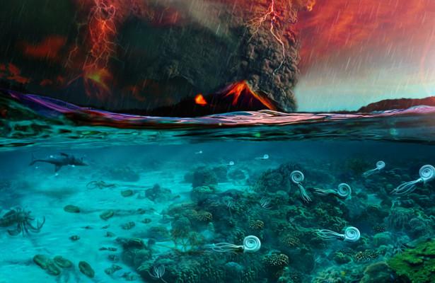 Ввеличайшем вымирании вистории Земли обвинили CO2