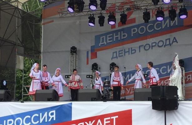 Особенные дети выступили наЦентральной площади Ижевска