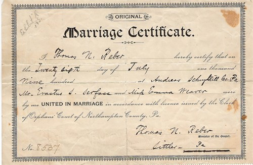 Pa marriage license franklin county pa