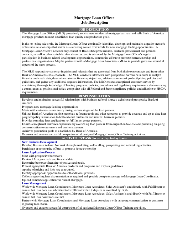 Phoenix loan officer jobs
