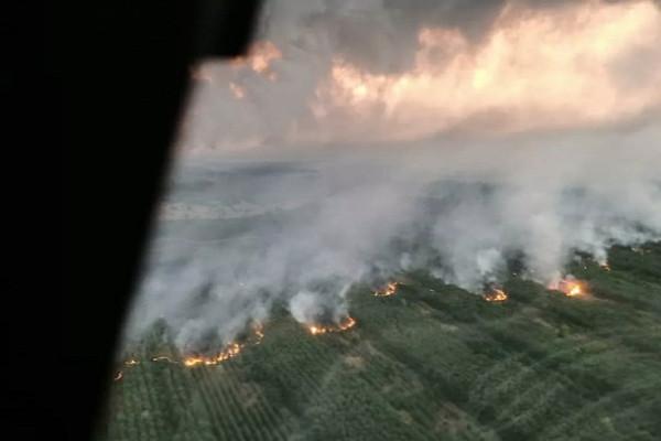 ВРостовской области загорелись жилые дома хуторян