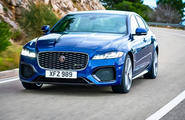 Jaguar представил обновленный XF