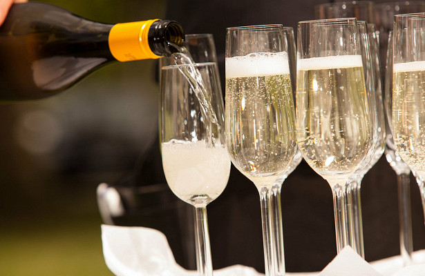 ВРоссии выросли продажи шампанского