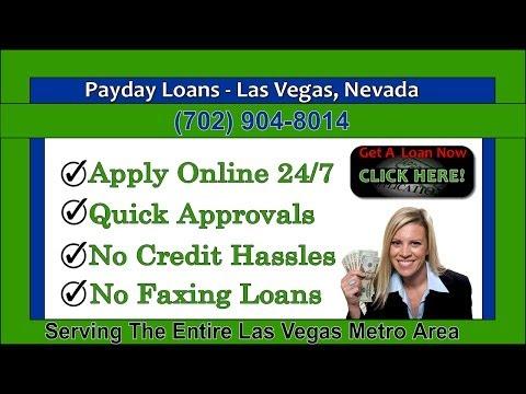 Las vegas loans online