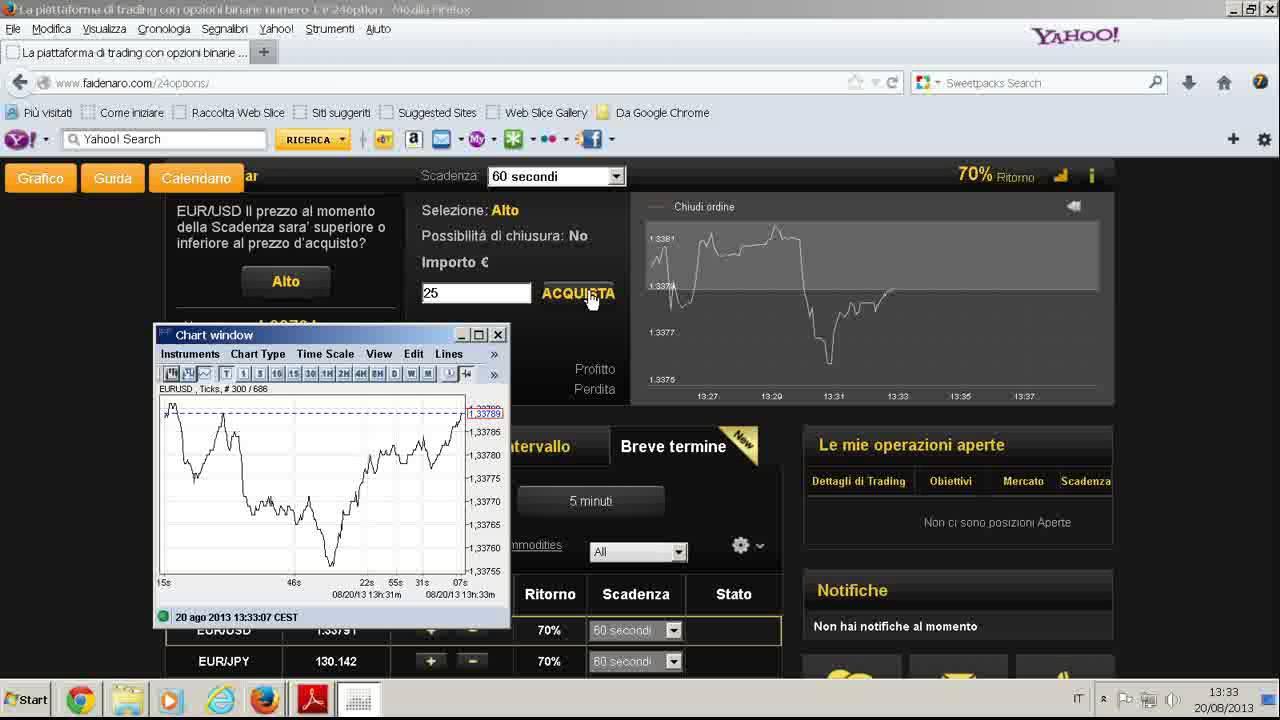 trading on line per principianti opzioni binarie 60 secondi