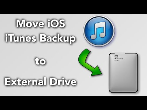 How to Put Songs From an External Hard Drive Into iTunes
