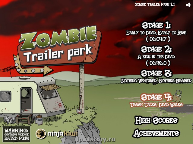 Play Zombie Trailer Park @ Addicting Games 360