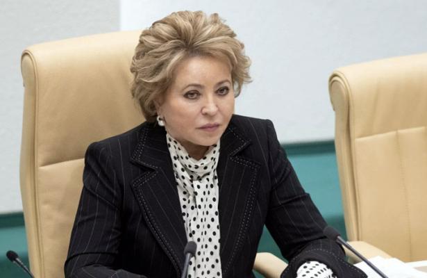 Матвиенко оценила отношения РФиТаджикистана