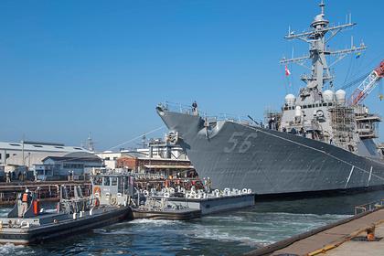 ВРоссии прокомментировали вторжение американского эсминца «Джон Маккейн»