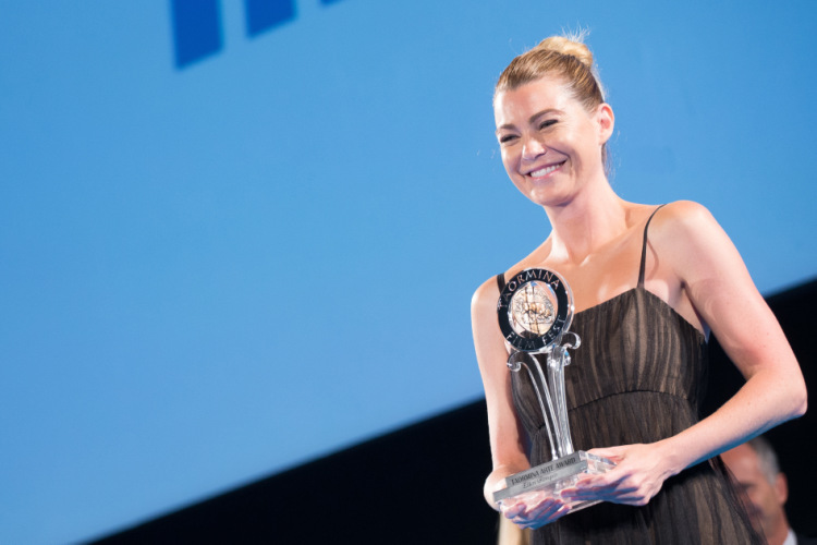 """Taormina Film Festival, Ellen Pompeo di """"Grey's"""